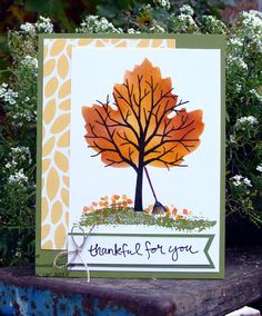 Sheltering Tree, Stampin' Up! @ My Tanglewood Cottage