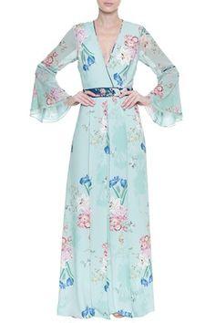 Vestido Longo Floral Melody
