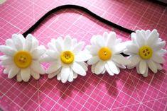 Daisy Headband DIY