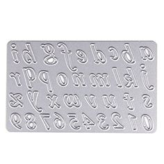 SCASTOE Alphabet Cutting Dies Stencil Scrapbook Album Paper Embossing Card DIY Tool * Continue to the product at the image link.(It is Amazon affiliate link) #WeddingAccessoriesIdeas