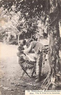 Barber, Madura 1908