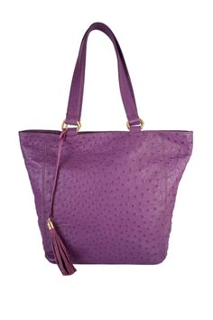 The Sienna. Shopping tote. Genuine ostrich leather. 24 carat gold fittings. www.pedicollections.com