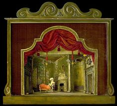 Mrs. Malaprop's lodgings, Bath; Set model | Messel, Oliver Hilary Sambourne | V&A Search the Collections