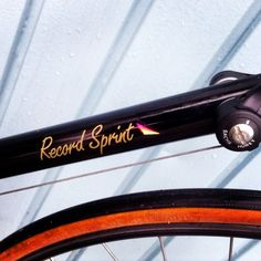 Amazing condition - 1980's Raleigh Record Sprint decal