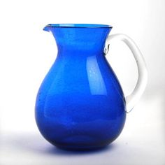 Glass Pitcher Cobalt, $20, now featured on Fab.