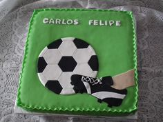 Bolos de aniversário para fãs de futebol - Bolos de Aniversário