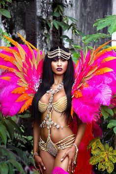 Trinidad Tribe Carnival Costumes 2016 wild kingfisher(shared via Carnival Info Mobile App get it here! http://carnivalinfo.com/mobile)