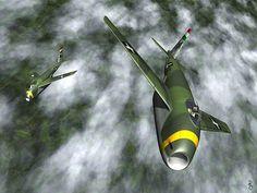 Ronnie Olsthoorn's Messerschmitt Me P.1101 Luft Art images