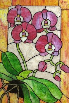 https://www.google.co.nz/search?q=stained glass orchid