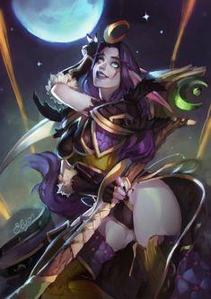 Night elf :: Warcraft Расы :: World of Warcraft :: Warcraft :: Blizzard (Blizzard Entertainment) :: artist :: ragora :: фэндомы Fantasy Character Design, Character Design Inspiration, Character Concept, Character Art, World Of Warcraft, Warcraft Art, Fantasy Warrior, Fantasy Girl, Dark Fantasy