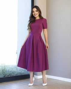 Id shorten this to below my knee but absolutely Love it! Girls Frock Design, Long Dress Design, Stylish Dress Designs, Designs For Dresses, Modest Dresses, Stylish Dresses, Elegant Dresses, Pretty Dresses, Casual Dresses