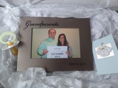 Framed Pregnancy Announcement--Cute and Simple.