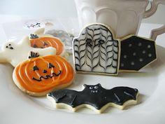 Recetas de galletas decoradas para Halloween - CharHadas.com                                                                                                                                                                                 Más