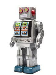 Robot muursticker