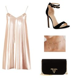 """""""Sans titre #36"""" by justiinkiddo on Polyvore featuring mode, Boohoo, Chloe + Isabel et Prada"""