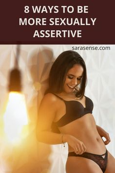 Want to be more confident and assertive in the bedroom? Sarasense shares several science-based ways you can assert yourself sexually that will help you stay in the moment and enhance the experience, starting with Loving Yourself. Find out the other 7 tips here.  #betterinbed #sextips #relationshipadvice #betterlover #bettersex #sexcoach #confidence #sexuality Healthy Relationships, Relationship Advice, Healthy Relationship Quotes, Couples Game Night, Ga In, Assertiveness, Sex And Love, Learning To Be, Pain Relief