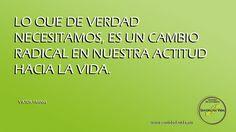 Lo que en verdad necesitamos... www.sentidodevida.mx