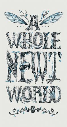 Amazing Lettering Artworks by Gemma O'Brien – Inspiration Grid | Design Inspiration