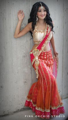absolutely in love with the lehenga! - for more follow my Indian Fashion boards :)