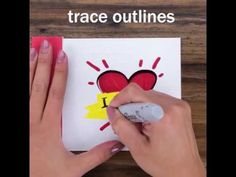 How to make the world's sneakiest greeting card - YouTube
