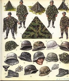 The Funcken's guide to the arms and uniforms of WW2, in 4 volumes