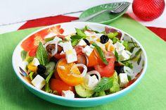 греческий салат Caprese Salad, Food, Essen, Meals, Yemek, Insalata Caprese, Eten