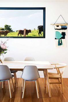 Modern dining room - cool image