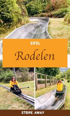 Rodelen in de Eifel: je even weer kind voelen - Stripe Away Eifel, Water Activities, Ultimate Travel, Staycation, Outdoor Travel, Day Trips, Travel Guide, Places To Visit, Germany