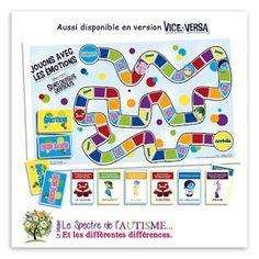 Le spectre de l'autisme - TSA et les différentes différences: Jeu de société - Jouons avec les émotions