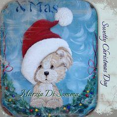 Christmas Doggy  Merry Christmas  Natale