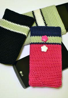 #telefontok #horgolt #crochet #phonecase Apple Watch, Smart Watch, Amigurumi, Smartwatch