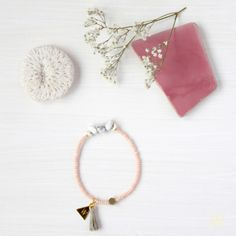 Armbänder - 'Marbleous Yoga' Armband - ein Designerstück von weiskoenig-jewelry bei DaWanda
