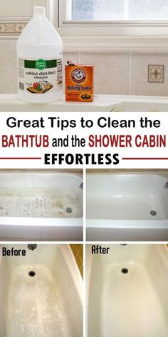 Bathtubs Can Get Dirty. See 10 Fantastic Ways To Clean Them