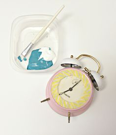 Create your own Anthropologie inspired clock for less than $10! Discount Craft Supplies | Up to 70% Off | Blitsy