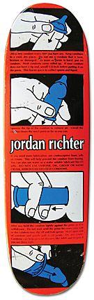 Model: Jordan Richter    Artist: Marc McKee    Company: Blind    Release Date: 1992