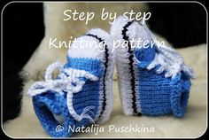 Knitting pattern (PDF)  Babies Shoes Socks Baby Booties Boy & Gilr