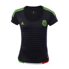Vive la pasión del fútbol con el nuevo Jersey #México FMF y lleva la verde en tu corazón con este increíble diseño.