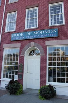 Alicia: LDS Church History tour - Palmyra, NY!