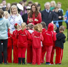 Pictures of Kate Middleton With Little Girls | POPSUGAR Celebrity