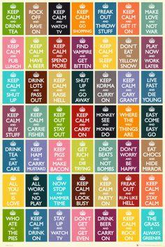 Toutes les couleurs
