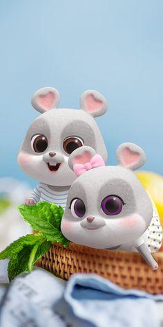 Iphone Wallpaper Music, Chibi Wallpaper, Hello Kitty Wallpaper, Cute Bunny Cartoon, Cute Couple Cartoon, Cute Love Cartoons, Cute Black Wallpaper, Cute Couple Wallpaper, Cute Disney Wallpaper