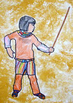 l'art à la préhistoire et chez les égyptiens