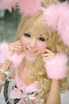 Asian Rabbit cosplay | Cute Japanese and Korean guys Japanese new hair color trends alert ...