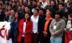 Camila Vallejo, Karol Cariola y otros ex dirigentes estudiantiles participan de encuentro con Bachelet