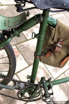 Bianchi Military Folding Bicycle (anno 1912)