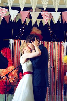 DIY Colourful Village Hall Wedding http://myfabulouslife.co.uk/