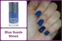 BLUE SUEDE SHOES Jamberry Nail Lacquer #bluesuedeshoesjn