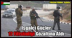 İsrailordusundan yapılan yazılı açıklamaya göre, Yahudi yerleşimcilere yönelik şiddet olaylarına karıştığı iddia edilen 12Filistinligece düzenlenen baskınlarla gözaltına alındı.   #12 filistinli gözaltı #israil filistin