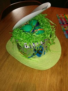 Ninja turtle easter bonnet
