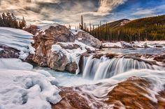 Sunrays over Elbow Falls by Scott Bennie https://500px.com/photo/58233064/sunrays-over-elbow-falls-by-scott-bennie?utm_medium=pinterest&utm_campaign=nativeshare&utm_content=web&utm_source=500px